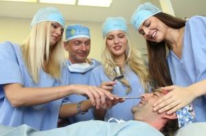 České Miss 2012 na klinice 1