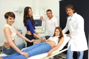 České Miss 2013 na klinice 1