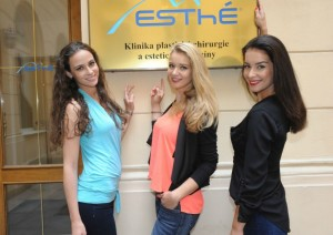 České Miss 2014 na klinice 1