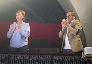 manželé Hanka a Pavel v loži