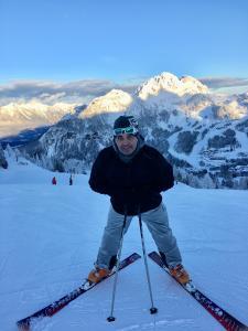 lyžař Martin Dejdar