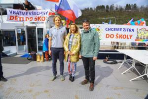 2 Organizatori Karel Janecek, Vera Komarova a Jakub Olbert 5R1A4265