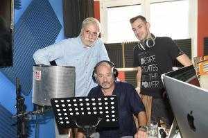4 Autoři Mefista s V. Preisem při práci DSC7039