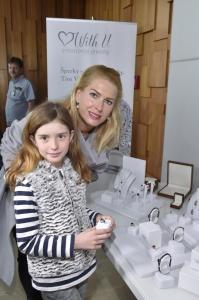 .Olga Menzelová s dcerou Aničkou