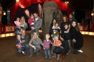 Děti v cirkuse