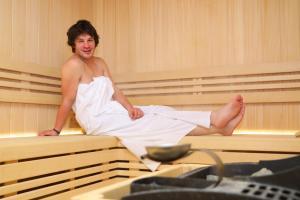 David má saunu hodně rád