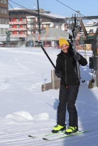 Davida lyžování baví IMG 8792