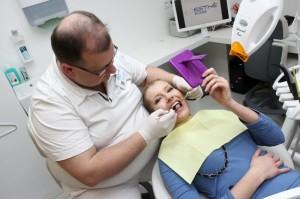 Jitka Nováčková na bělení zubů 1