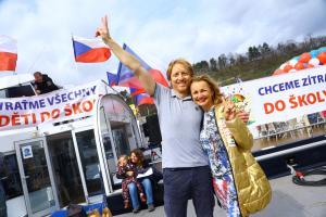 Karel Janecek a Vera Komarova organizatori  5R1A4326