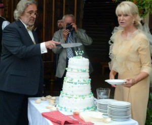Milada Karasová - svatba 3