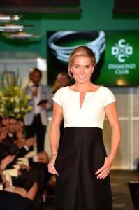 Olga Menzelová jako modelka diamond club 5518