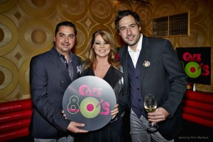Opening party Café 80's 1