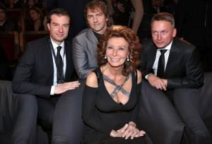 Sophia Loren na České Miss 1