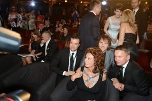 Sophia Loren na České Miss 2