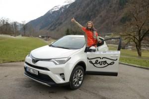 Toyota - předání vozu Evě  3