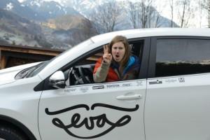 Toyota - předání vozu Evě  4