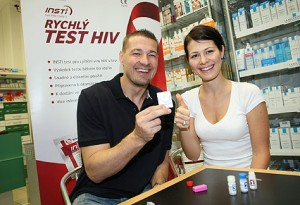 Udělejte si test HIV