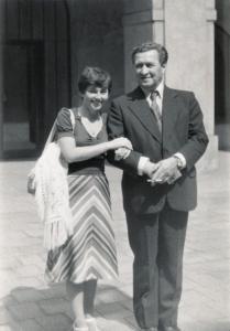 Vetrak - Josef Větrovec s dcerou Jitkou - Foto MV knihy