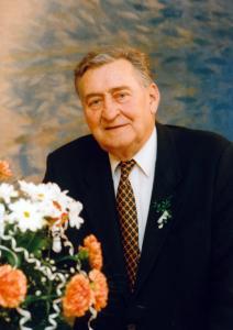 Vetrak - Josef Větrovec v únoru 1997 na svadbe vnucky Jany - Foto MV kni...